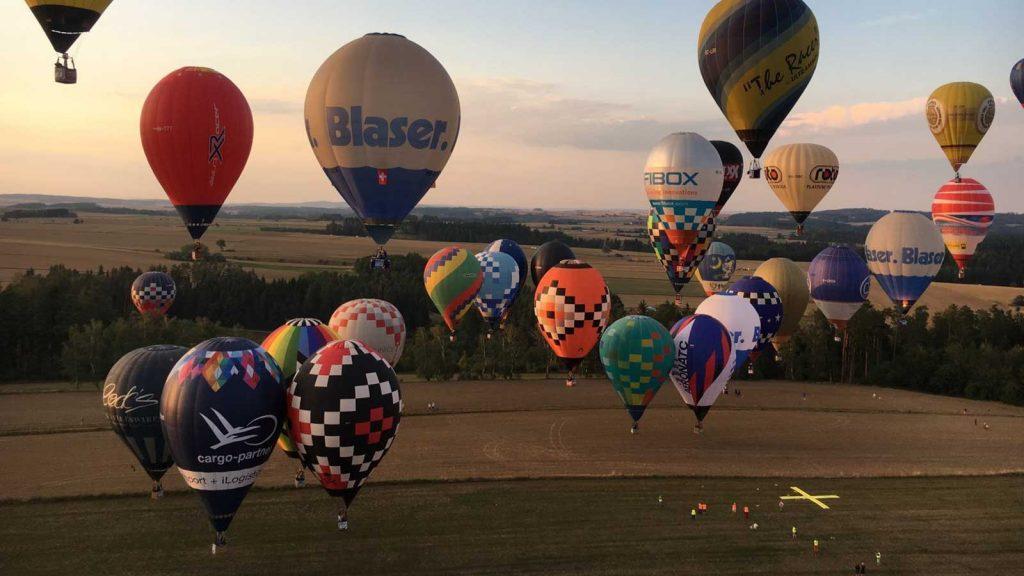 Hőlégballon verseny