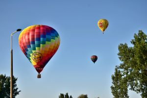 Ballonok az I. Győr Balloon Fiestan